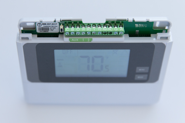 Wiring Diagram For Vivint Thermostat : Adjust hvac settings vivint smart thermostat